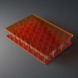 big AIR-board® UV PC color   orange 2465   Plaques en matières plastiques   Design Composite