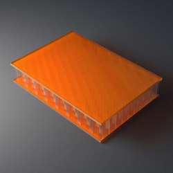 AIR-board® UV satin   orange   Plaques en matières plastiques   Design Composite