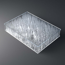 chaos AIR-board® UV PC color   transparent   Plaques en matières plastiques   Design Composite