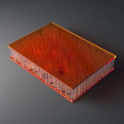 chaos AIR-board® UV PC color  orange   Synthetic panels   Design Composite