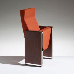 C100 a schienale alto | Auditorium seating | Lamm