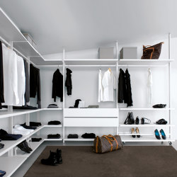 Personal | Walk-in wardrobes | Extendo