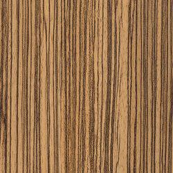Zebrano | Wood panels | Pfleiderer