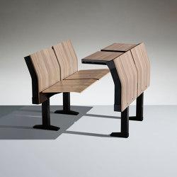 E4000 Fixed writing table | Auditorium seating | Lamm