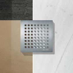 Design grates | Quadra series | Plate drains | DALLMER