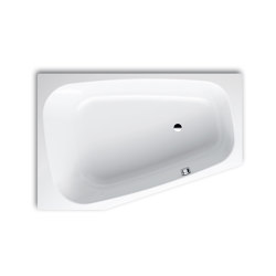 Plaza Duo right alpine white | Bathtubs | Kaldewei