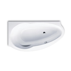 Studio right alpine white | Bathtubs | Kaldewei