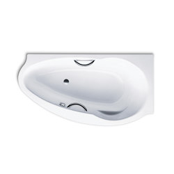 Studio Star left alpine white | Bathtubs | Kaldewei