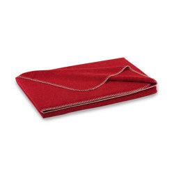 Alina Blanket cranberry | Mantas | Steiner1888