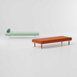 Bitta deckchair/ stool module | Panche | KETTAL