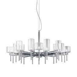 Spillray SP 20 crystal | Suspended lights | Axolight