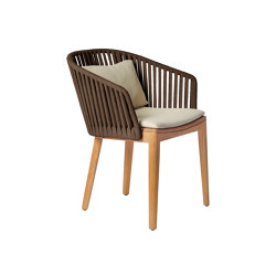 Mood Dining Chair | Earthbrown | Chairs | Tribù