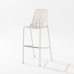 Forest barstool high backrest | Tabourets de bar | Fast