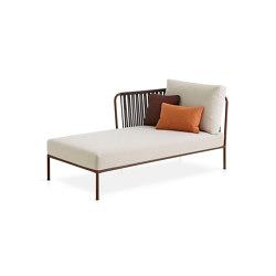 Nido left chaise longue module | Chaise longues | Expormim
