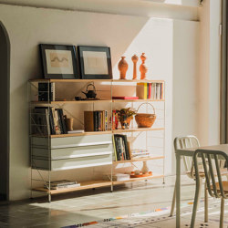 TRIA living room | Shelving | Mobles 114