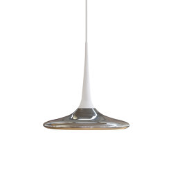 FALLING LEAF UP ALU POL/WHITE | Suspended lights | Tobias Grau