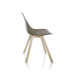X Wood Chair | Chairs | ALMA Design