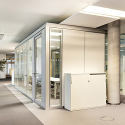 Lindner Cube duo | Sound absorbing architectural systems | Lindner Group