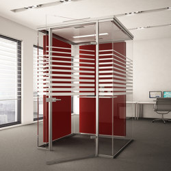 Lindner Cube phone | Sound absorbing architectural systems | Lindner Group