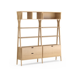 Dixon Double Storage Unit | Shelving | Dare Studio