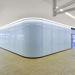 Lindner Free Glass | Ceiling panels | Lindner Group