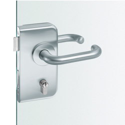 FSB 13 4223 Glass door fitting | Handle sets for glass doors | FSB