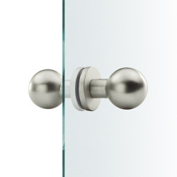 FSB 23 0802 Glass doorknobs | Knob handles for glass doors | FSB