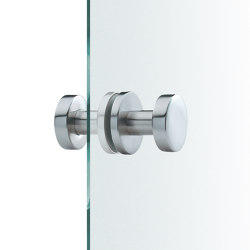 FSB 23 0829 Glass doorknobs | Knob handles for glass doors | FSB