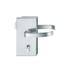 FSB 1163 Glass-door hardware | Handle sets for glass doors | FSB