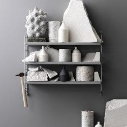String Pocket grey | Shelving | string furniture