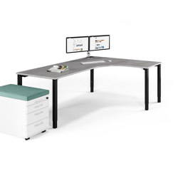 Rondana table system | Contract tables | Assmann Büromöbel