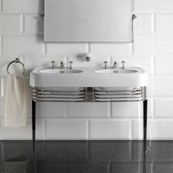 Wide Blues Console | Wash basins | Devon&Devon