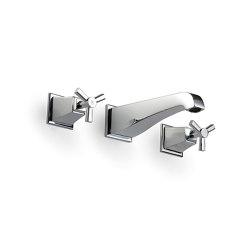 Time Grupo grifones para montaje a pared | Grifería para bañeras | Devon&Devon