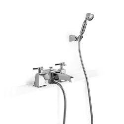 Time Bath and shower mixer - deck mounted | Bath taps | Devon&Devon