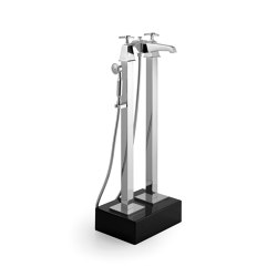 Time Bath & shower mixer with free standing legs | Bath taps | Devon&Devon