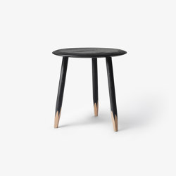 Hoof SW1 Black Lacquered Oak   Side tables   &TRADITION