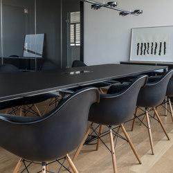 USM Haller Table | Black | Tavoli contract | USM