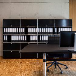 USM Haller Storage | Graphite Black | Cabinets | USM