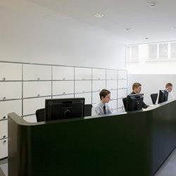 USM Haller Reception Station | Pure White | Banconi | USM