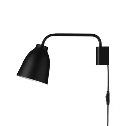 Caravaggio™ | Read HSP Wall Black | Wall lights | Fritz Hansen