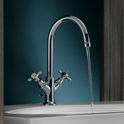 AXOR Montreux 2-Handle Basin Mixer for hand basins DN15 | Wash basin taps | AXOR