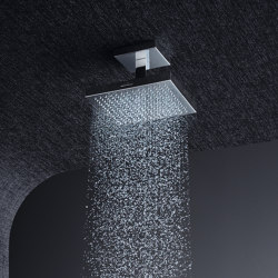 AXOR Shower Collection Overhead Shower 24 x 24 DN15 with ceiling connection | Shower controls | AXOR