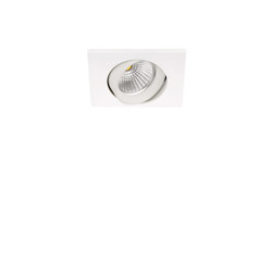 Dot Square Tilt | w | Recessed ceiling lights | ARKOSLIGHT