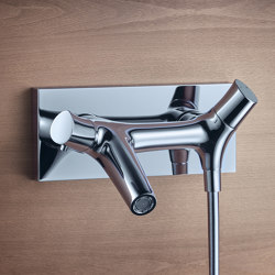 AXOR Starck Organic Thermostatic Bath Mixer for exposed fitting DN15 | Bath taps | AXOR