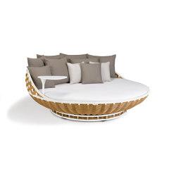 SWINGREST Standing lounger | Seating islands | DEDON