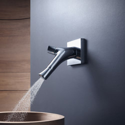 AXOR Starck Organic 2-Handle Basin Mixer wall-mounting DN15 | Wash basin taps | AXOR