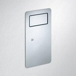 FSB ErgoSystem® E300 Wall-recessed litter bin | Pattumiera bagno | FSB