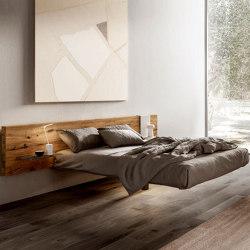 Fluttua Bed - Wildwood | Beds | LAGO