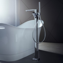 AXOR Urquiola Thermostatic Bath Mixer DN15 floor standing | Bath taps | AXOR