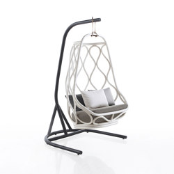 Nautica Swing chair with base | Armchairs | Expormim